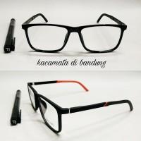 kacamata frame casual lentur anti patah