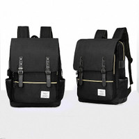 Freeknight Tas Ransel USB Charger Backpack Laptop Sekolah Kuliah TR403