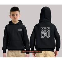 hoodie sweater anak black pink dududu - high quality 01