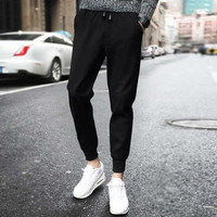 Celana Panjang Pria Jogger Import Lotto Sweat Pants Hitam