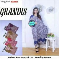 Longdress Jumbo Batik Grandis Modern Grosiran
