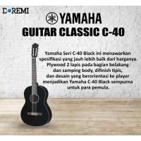 Yamaha Classic Guitar C-40 / C40 / C 40 BLACK