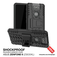 Armor Case Asus Zenfone 6 ZS630KL Soft & Hard Softcase Casing Cover