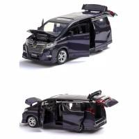 Diecast Miniatur Mobil Toyota Alphard Mainan Kado Anak