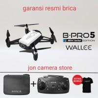 drone brica wallee SE + remote control + case garansi resmi