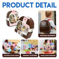 Mainan Anak Mainan Ice Cream Gelateria BackPack Series 7F709
