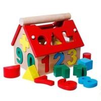 Mainan Anak Mainan Kayu Digital Inteelligence House 691-79A
