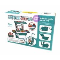 Mainan Anak Kitchen Supplies Little Chef set Hijau CK6080