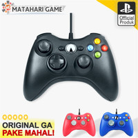 Microsoft Stick XBOX 360 Original Pabrik Wired Xbox 360 / PC - Putih