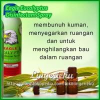 Eagle Eucalyptus Disinfectant Spray Cairan Semprot Disinfektan Anti Ku
