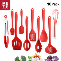 DIECI 10 in 1 SET Silicone Kitchen Utensil Spatula Cooking BPA-Free