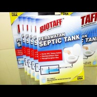 Biotaff bakteri konsentrat obat pengurai septik septic tank kloset