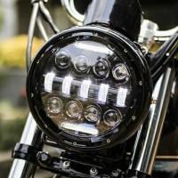 Headlamp LED Daymaker Spider Eye 7 Inchi