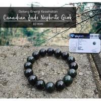 Gelang Energi Kesehatan Canadian Jade Nephrite Giok (GBP226)