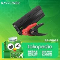 RAVPower Car Jumper Starter 14000mAh-1000A Peak Current EU [RP-PB063]