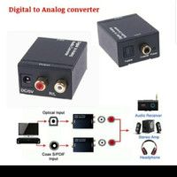 CONVERTER DIGITAL TV TO ANALOG AUDIO