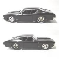 Jada Toys Diecast Chevy Chevelle SS 1969 Black