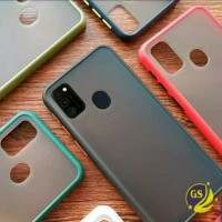 Vivo V19 New SoftCase Matte Armor Colored Froasted Macaron