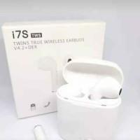 Headset Bluetooth Wireless Earphone Airpods HBQ i7S tws