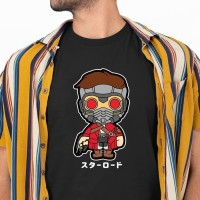 Kaos Star Lord Guardian of the Galaxy Chibi Lucu Murah
