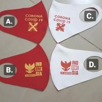 Masker Scuba Merah Putih MODEL BARU
