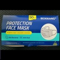 Masker medis Beixikang 3ply / ply earloop / ijin resmi BNPB