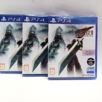 PS4 FINAL FANTASY VII 7 REMAKE REG 3 OFFICIAL SONY INDONESIA