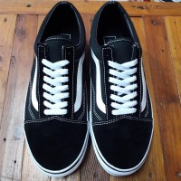 Sepatu vans pria/wanita Vans Old Skool black/white