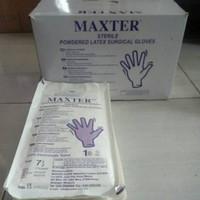 Sarung Tangan Obgyn Steril Maxter/MRM/MPM panjang