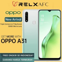 OPPO A31 2020 4/128 4 128 GB 4GB 128GB 4/128GB Garansi Resmi F. White
