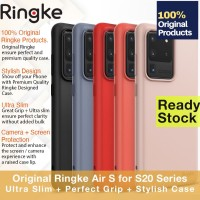 Case Samsung Galaxy S20 Ultra / S20 Plus S20 - Ringke Air S Casing - S20 Ultra, Black