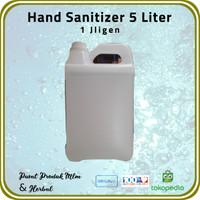 1 Jrigen Hand Sanitizer 5 Liter (Hanya untuk wilayah Jabodetabek)