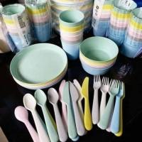 Ik€A Peralatan Makan Minum Pesta - Sendok Piring Mangkuk Gelas Pesta
