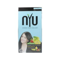 NYU CREAM HAIR COLOUR NATURAL BLACK