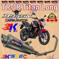 Knalpot ProLiner TR-1R Titan Long YAMAHA BYSON CARBU Racing Full-