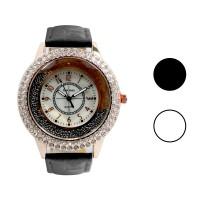 FIN-506 Jam tangan fashion wanita analog - leather strap - 2 pilihan