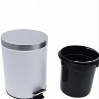 Krisbow tempat sampah steinles 5 liter warna putih