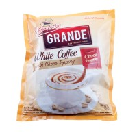 Kapal Api White Coffee Grande with Choco Topping (isi 20 sachet @20gr)