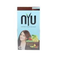 NYU CREAM HAIR COLOUR NATURAL BROWN