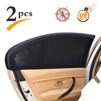 2 PCS Tirai Jendela Mobil Anti Panas Anti silau Penutup Kaca Mobil