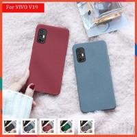 VIVO V19 Soft Case Matt Silicone Ultra Slim Full Cover Cases
