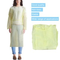 Ready Stock 1/5/10Pcs Disposable Breathable Gown Home Outdoor