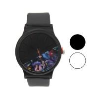 Jam tangan fashion wanita analog - leather strap - 2 pilihan warna -