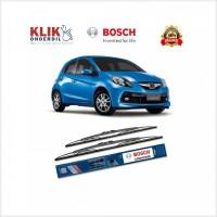 Sedang Promo Bosch Sepasang Wiper Kaca Mobil Honda Brio Satya Advantag