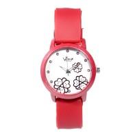 FIN-235 Jam tangan fashion wanita analog - rubber strap - 6 pilihan