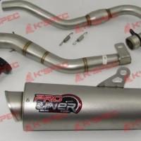 knalpot proliner pro liner CRF 150 L type long tools n parts