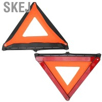 Skej Foldable Car Reflective Triangle Emergency Fault Sign Warning