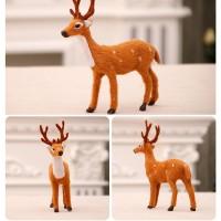 Boneka Rusa Simulasi untuk Dekorasi Natal / Tahun Baru