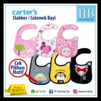 GRATIS ONGKIR Slabber Bayi Carter / Baby Bib / Celemek Bayi LIMITED