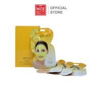 Masker Wajah NICESO Official Facial Mask Ovale Lemon 15gr